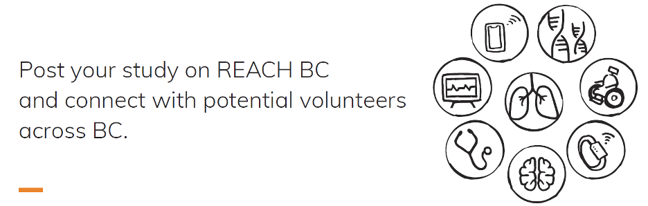 graphic describing the REACH BC project